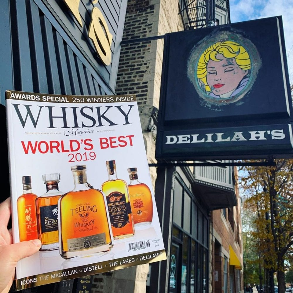 Book of Worlds Best Wiskey at Deliliah's Chicago