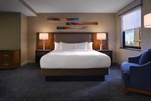 Hilton Chicago Bed