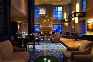 Hilton Chicago Lobby