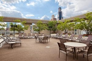 Hilton Chicago Rooftop