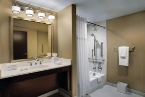 Hilton Chicago Washroom