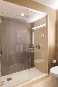 Hyatt Regency Chicago Showers