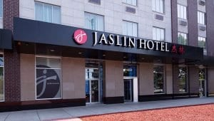 Jaslin Hotel Entrance