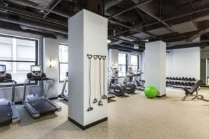 Kimpton Gray Hotel Gym