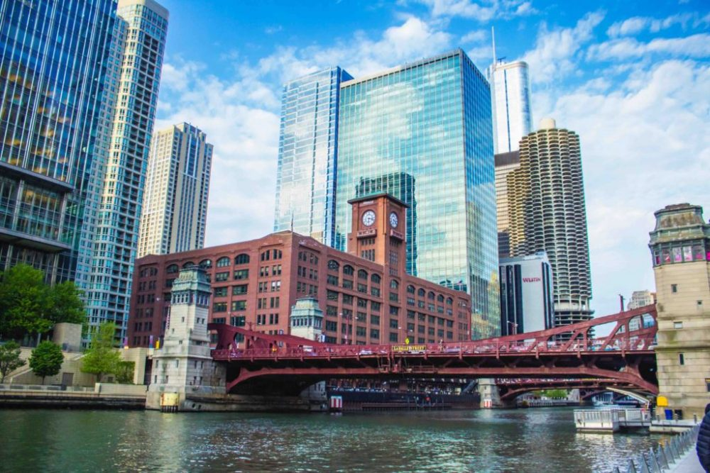 Chicago Riverwalk bridge during the day | best things to do in Chicago