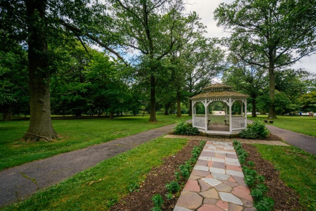 A gazebo in West Fairmount Park - Best things to do in Philadelphia