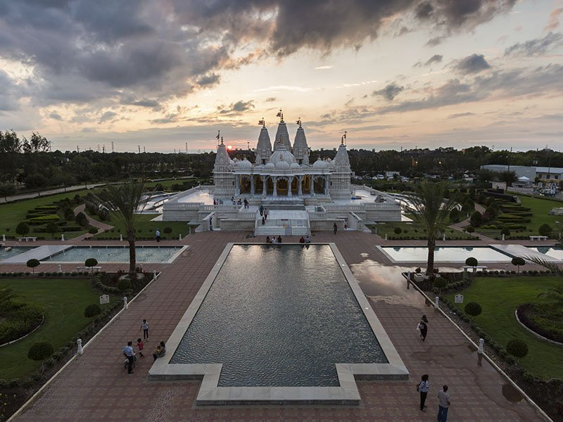 Entrance photo of BAPS Shri Swaminarayan Mandir | things to do in houston