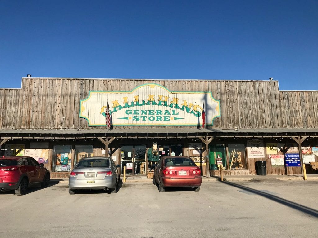 Entrance photo of Callahan's General Store | best things to do in Austin