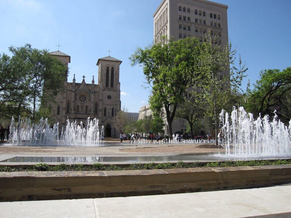 Fountains at Main Plaza San Antonio Things to do in San Antonio