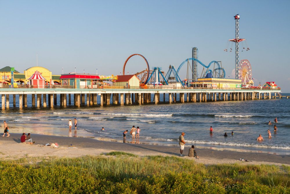 Galveston beach in Houston | things to do in houston