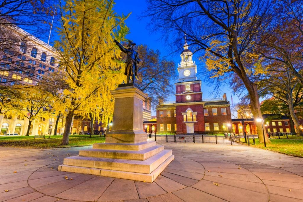 Independence Hall in Philadelphia - Best things to do in Philadelphia