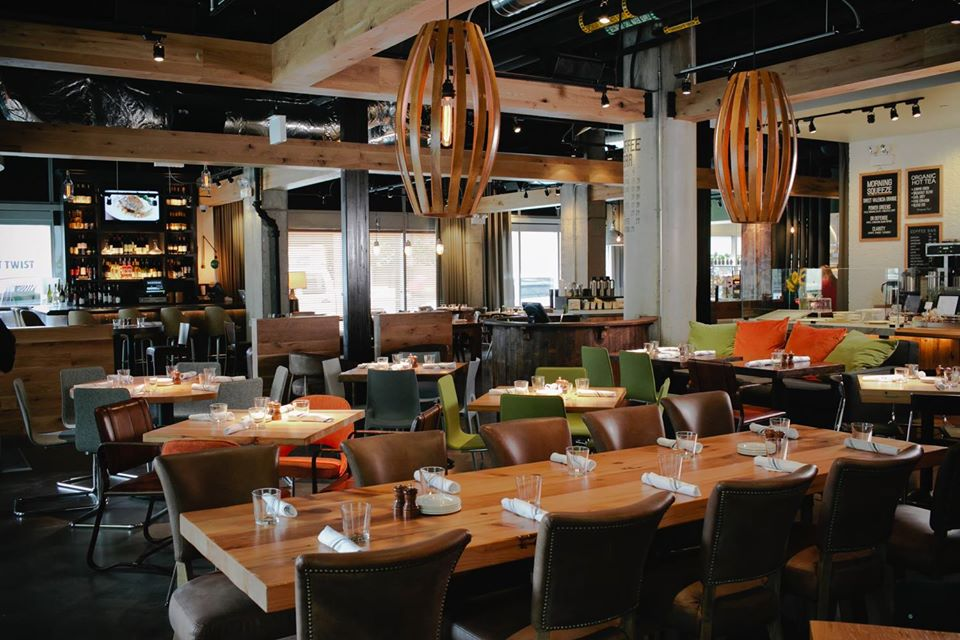 Industrial but yet a touch of elegance surrounding at Beatrix
