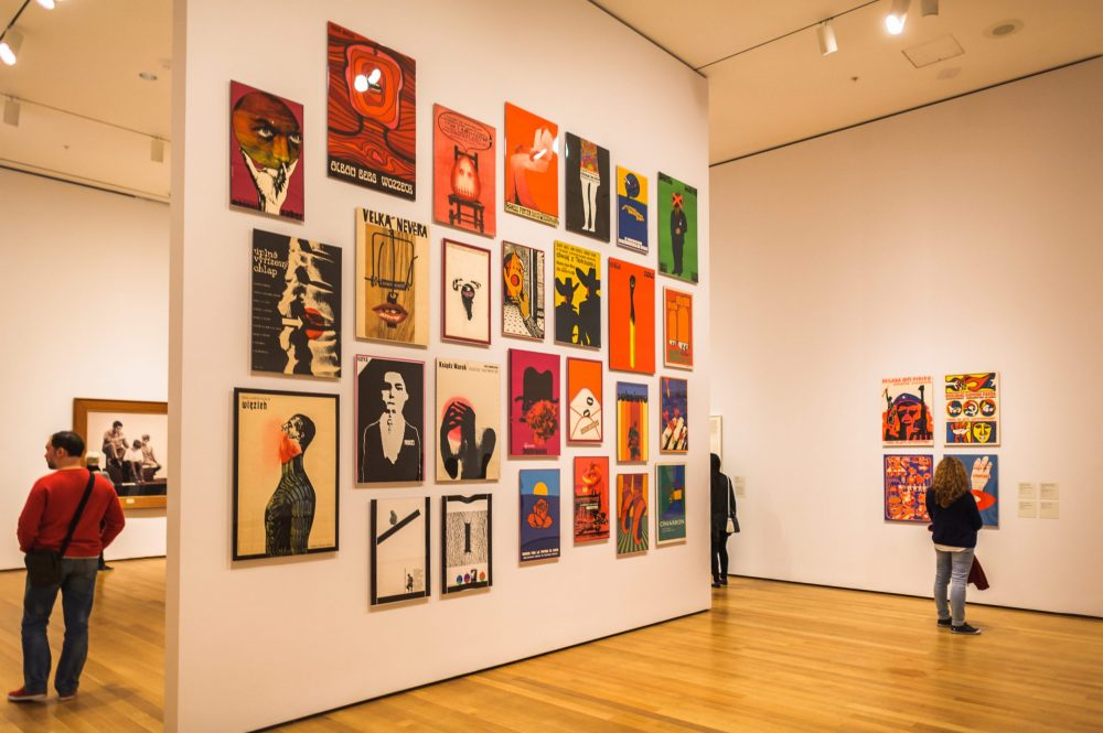 Interior of the Museum of Modern Art (MoMA) | things to do in nyc