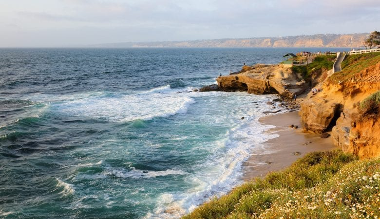 La Jolla Cove on a late afternoon | things to do in san diego