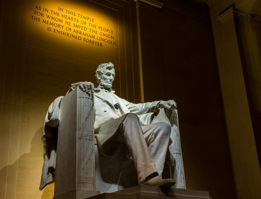 Lincoln Memorial Shot | Best thing to do in Washington D.C