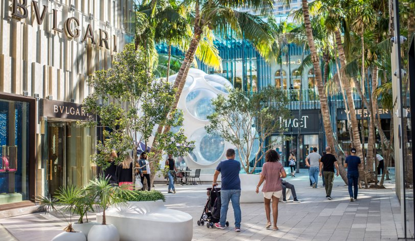 Lobby of Miami Design District | best thing to do in Miami
