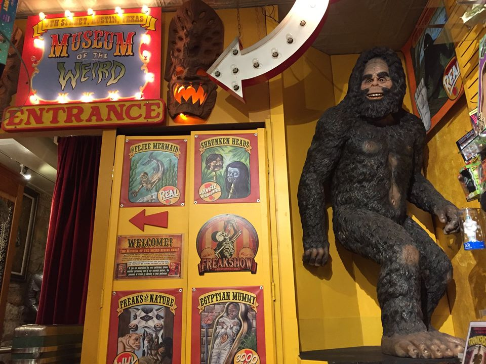 Museum of the Weird, one of Austin's oddest attractions | best things to do in Austin