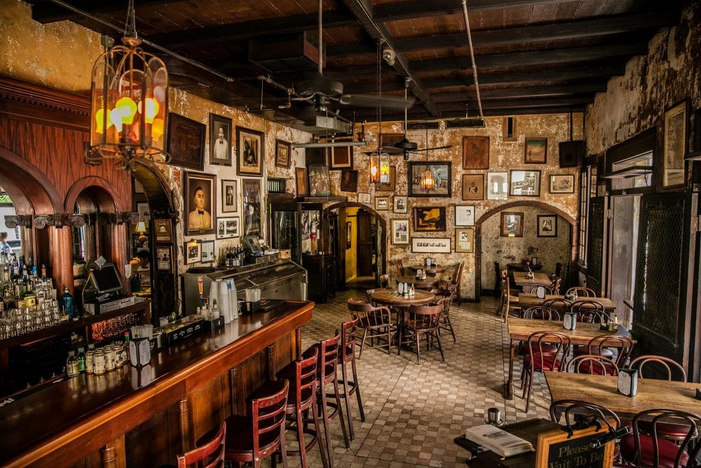 Napoleon House - Inside Photo of a bar at Napoleon House | things to do in nola