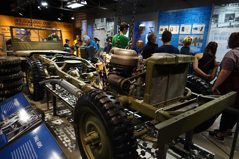 National World War II Museum - The Arsenal of Democracy | things to do in nola