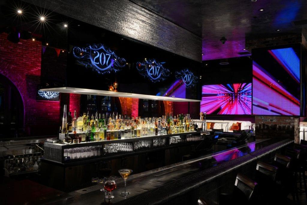 Nightlife Bar in The Hard Rock San Diego Hotel Downtown -best hotels in san diego