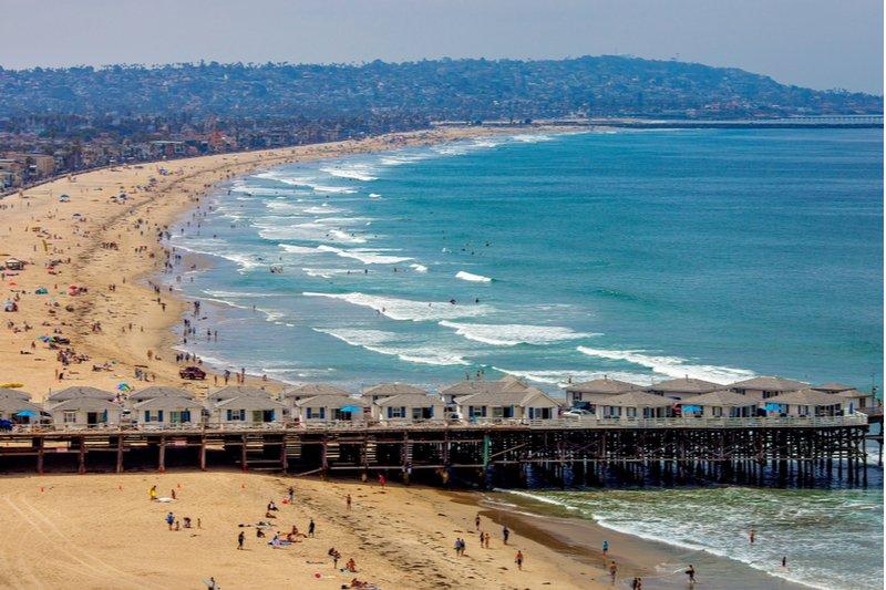 Pacific Beach- San Diego- Best Beaches in San Diego