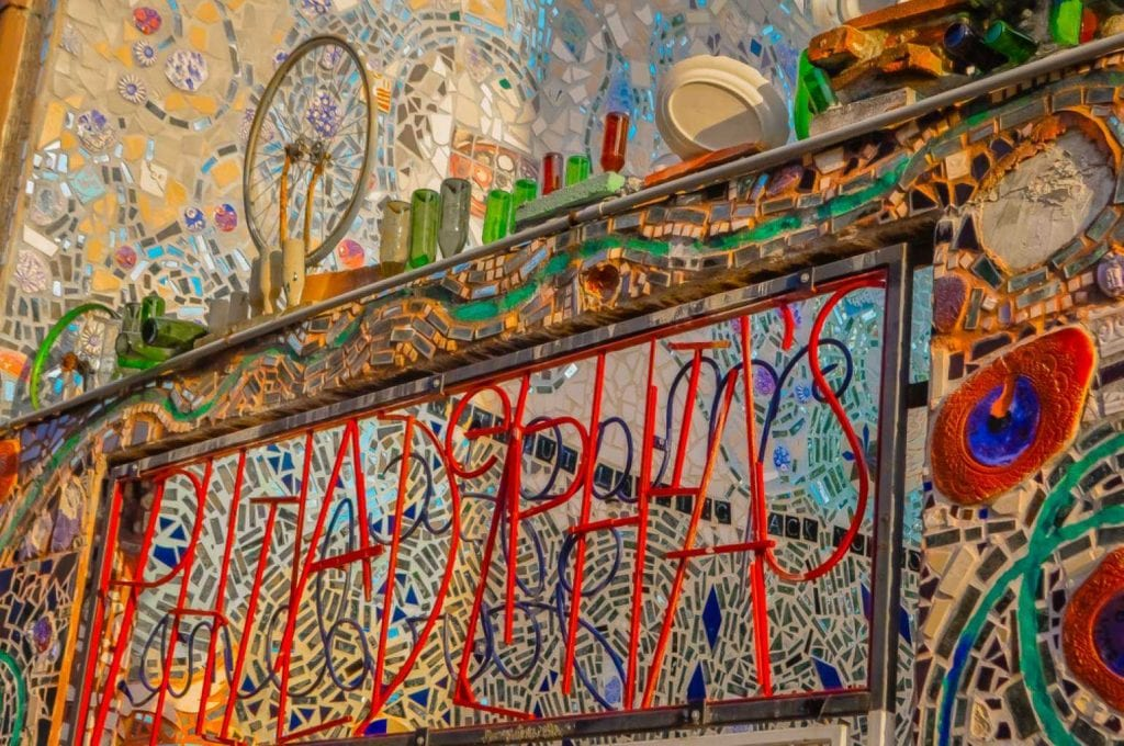 Philadelphia's magic gardens made of recycled glass and other materials - Best things to do in Philadelphia