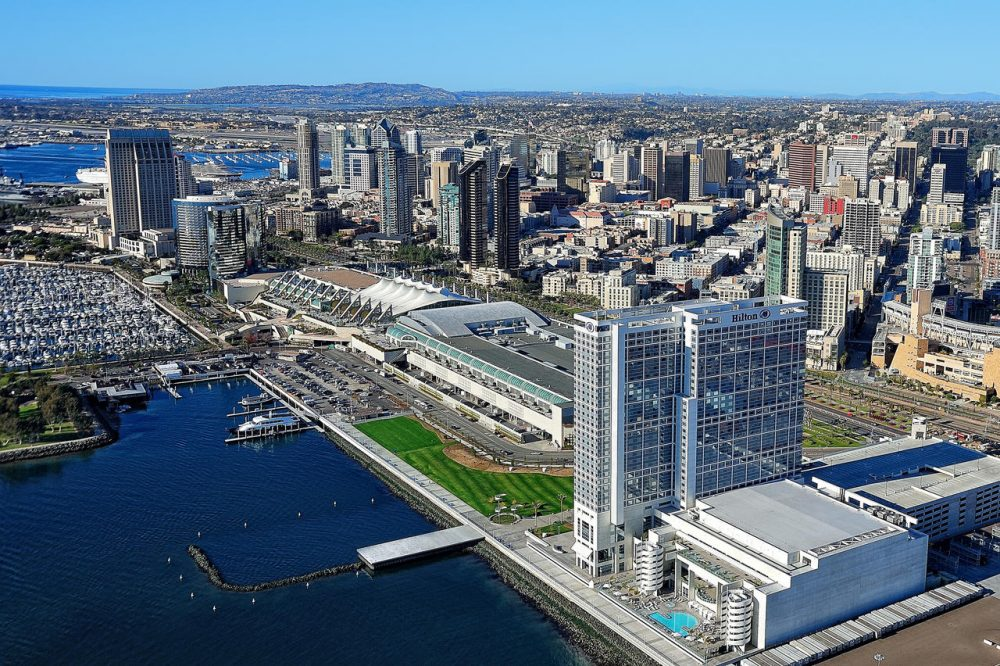 Photo of Hilton San Diego from above