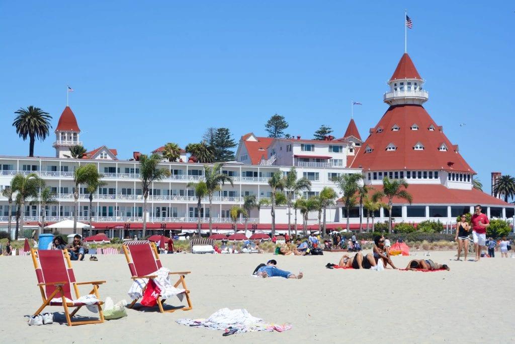 Victorian Hotel del Coronado in San Diego - Best Beaches in San Diego