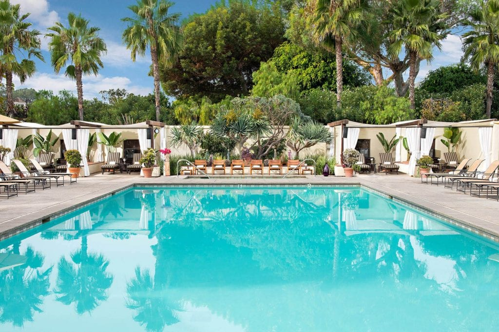 Picture of the Pool in The Estancia La Jolla Hotel & Spa - best hotels in san diego