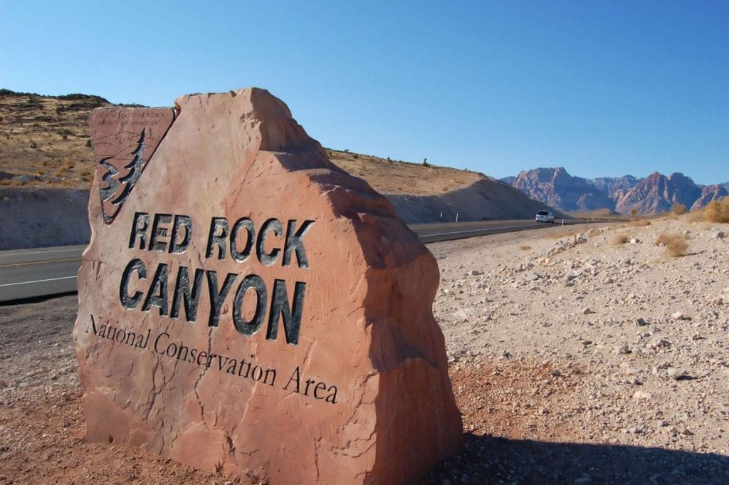 Red Rock Canyon best things to do in Las Vegas