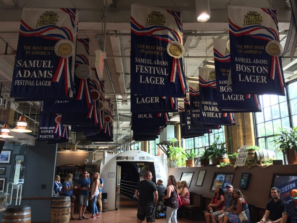 Samuel Adams Brewery tour | best things to do in boston