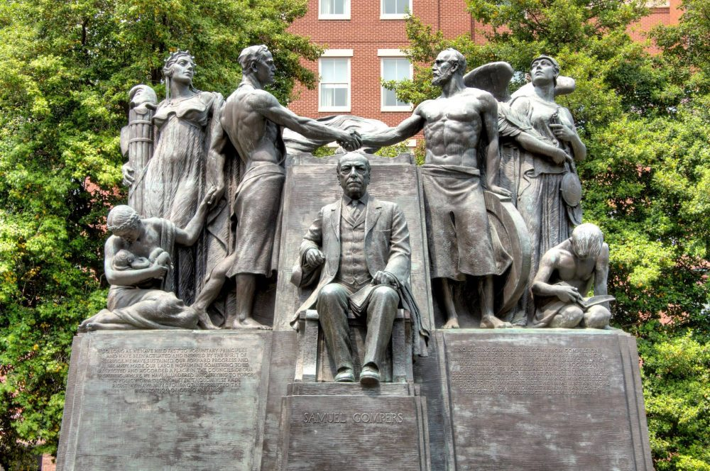 Samuel Gompers Memorial Park - Statue of Samuel Gompers Memorial Park | things to do in dc