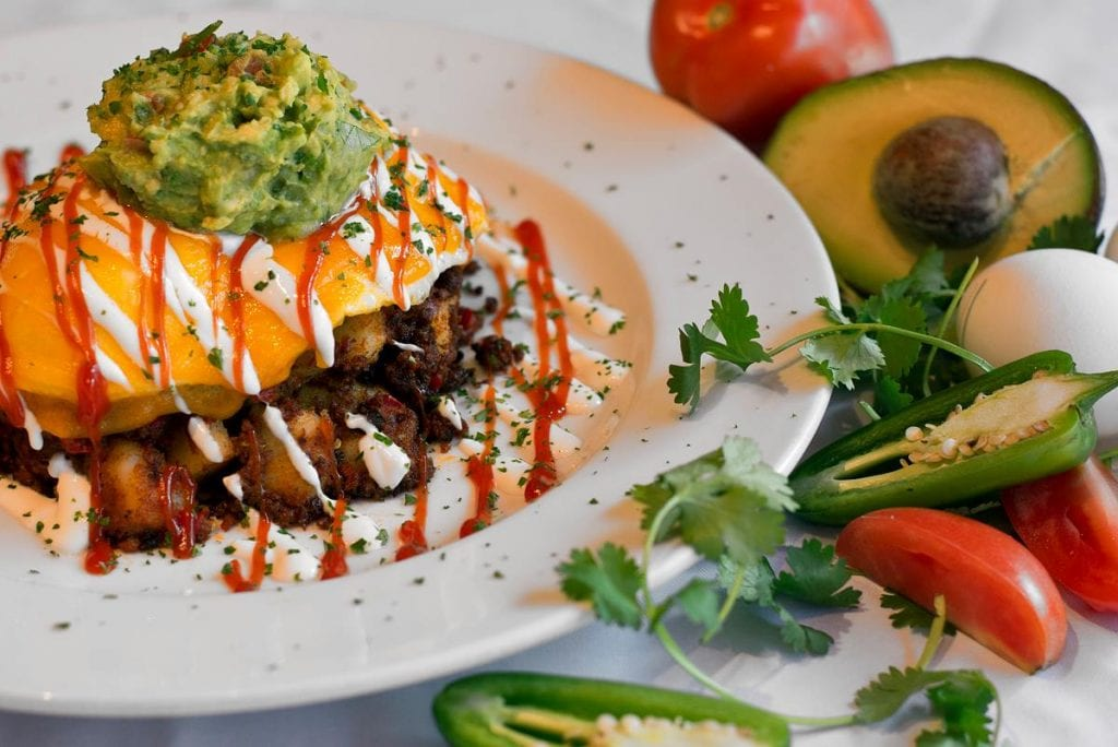 Savory brunch recipe offered by Over Easy Café | best brunch places in chicago, brunch in chicago