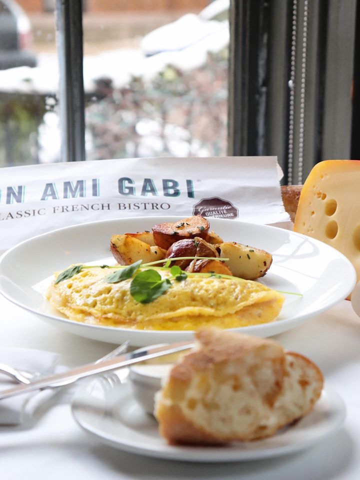 Simple but yummy recipe in Mon Ami Gabi | best brunch places in chicago, brunch in chicago