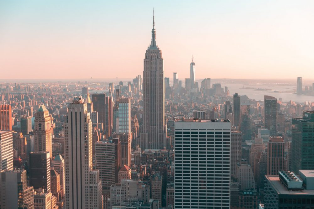 Skyline photo of Empire State Building | things to do in nyc