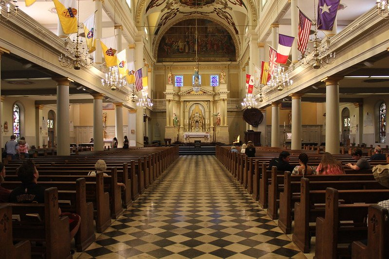 St. Louis Cathedral - Inside photo of St. Louis Cathedral | things to do in nola