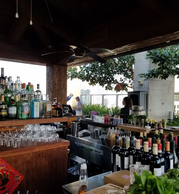 Sugar - Outside bar at the Sugar Miami | things to do in miami