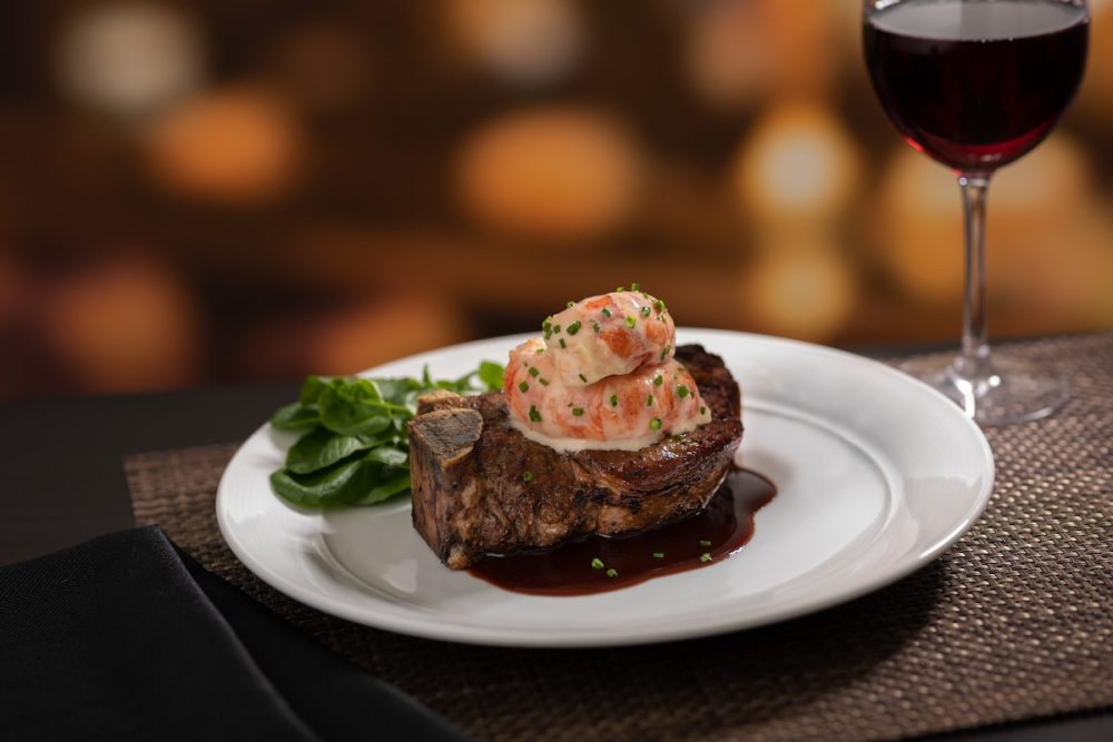 The Capital Grille - Bone-in Filet with South African Lobster Tail and Bordelaise | things to do in dc