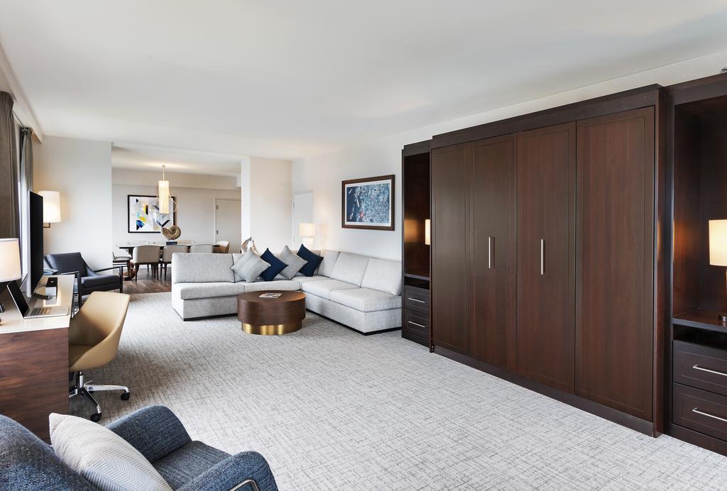 The Hilton San Diego Bayfront Living Room