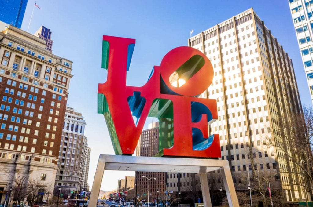 The Love Statue - Best things to do in Philadelphia