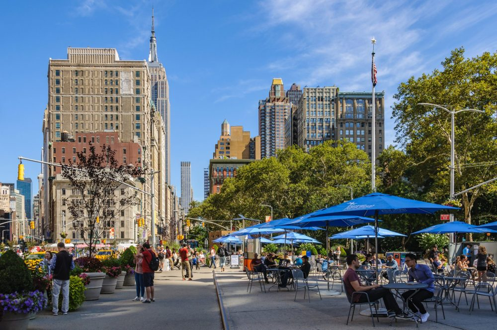 The Madison Square park surroundings   things to do in nyc