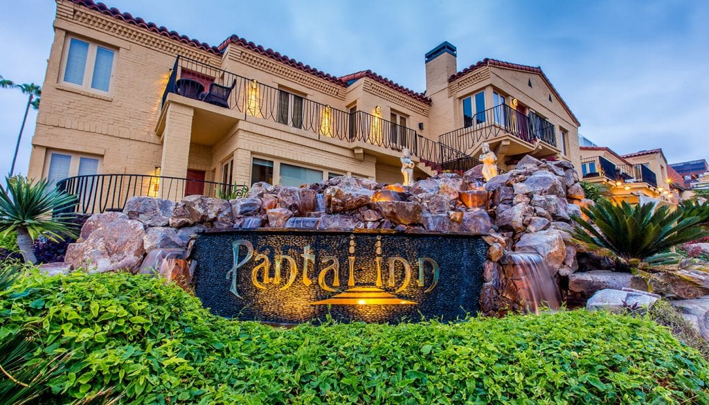 The Pantai Inn Front view - best hotels in san diego