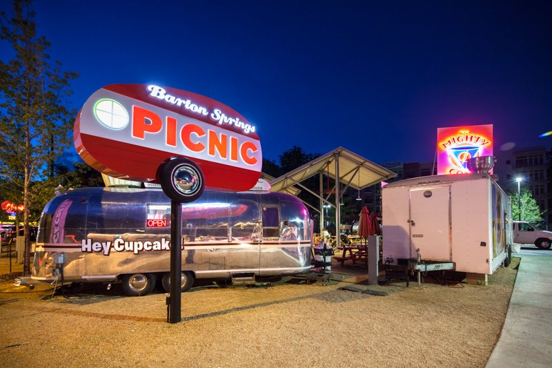 The Picnic Food Truck Trailer Park | best things to do in Austin