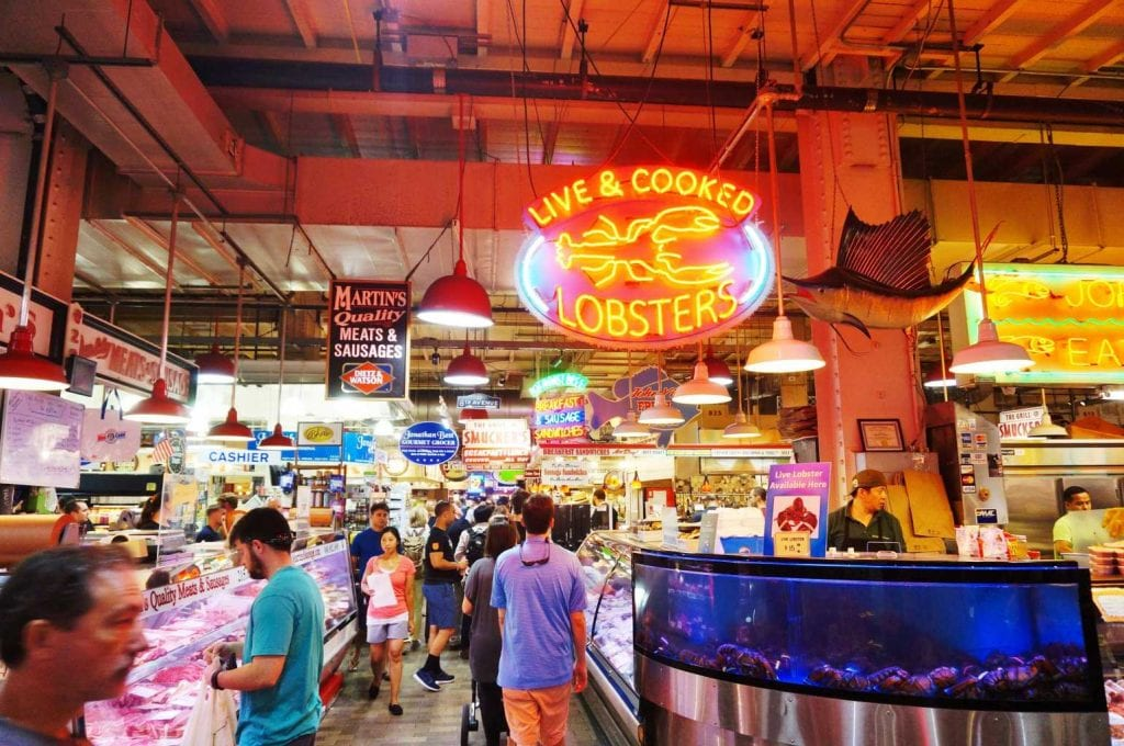 The Reading Terminal Market - Best things to do in Philadelphia