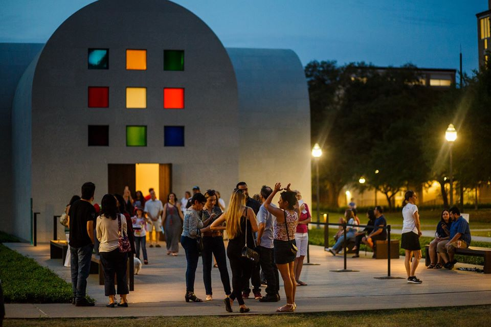 The panoramic view of Blanton Museum of Art | best things to do in Austin