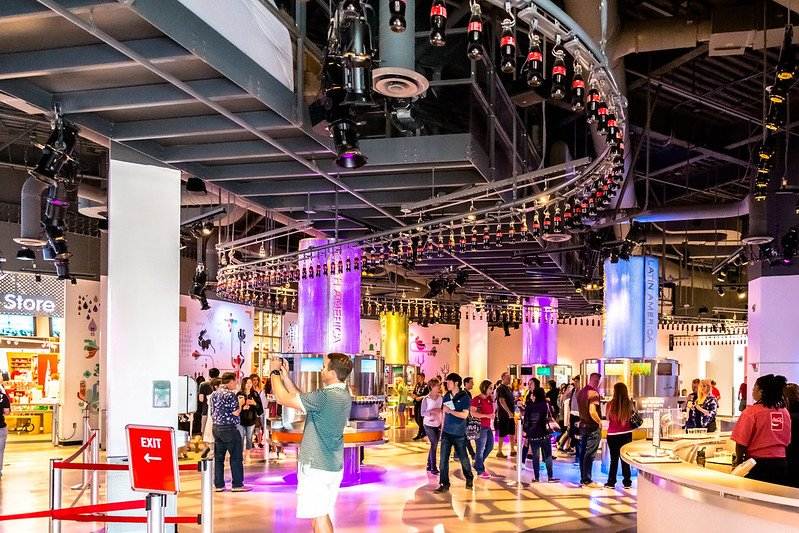 The renowned World of Coca-Cola museum | best things to do in atlanta