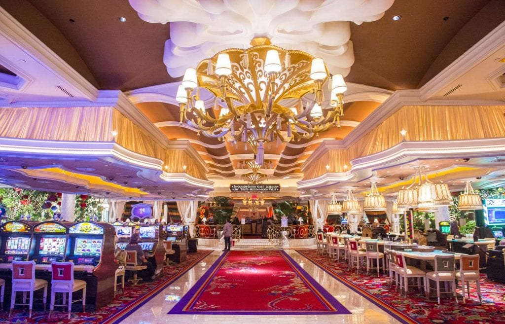 The the interior of Wynn Hotel and casino Best things to do in Las Vegas