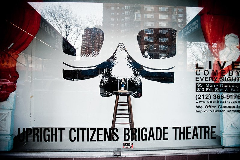 UCB Theatre | things to do in nyc