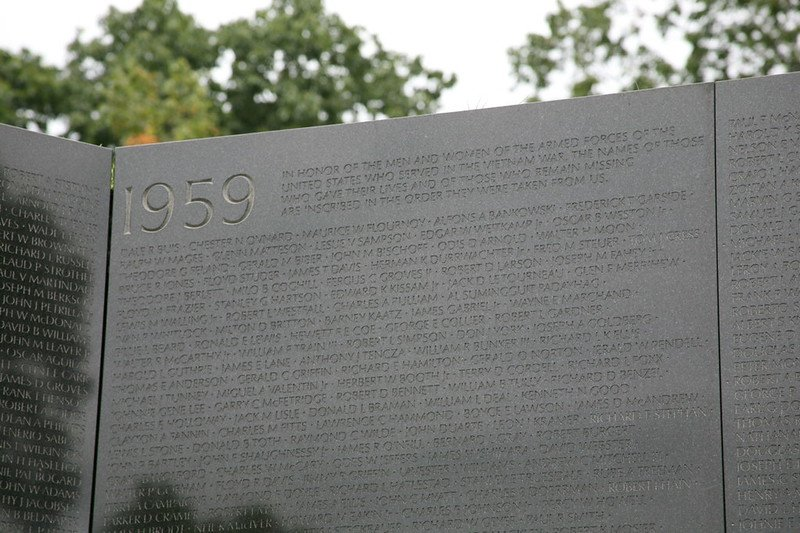 Vietnam Veteran's Memorial Wall - The Wall bears the inscribed dedication | things to do in dc