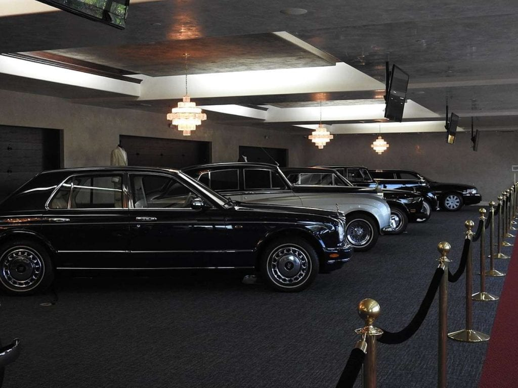 Wayne Newton's automobile collection at his Casa de Shenandoah Best things to do in Las Vegas